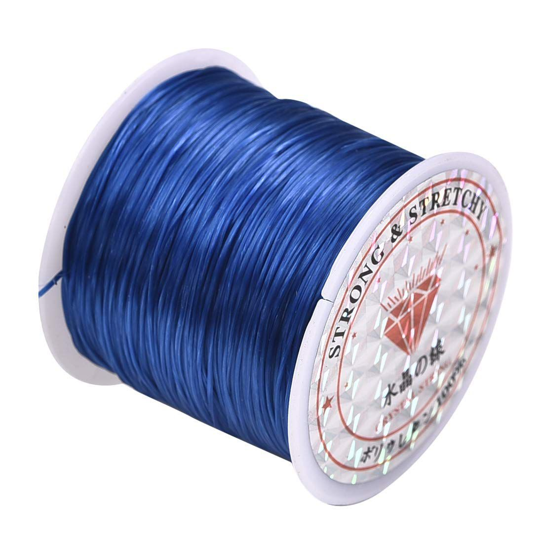 0.8mm  Blue Cord Thread for Jewelry and Bracelet Making