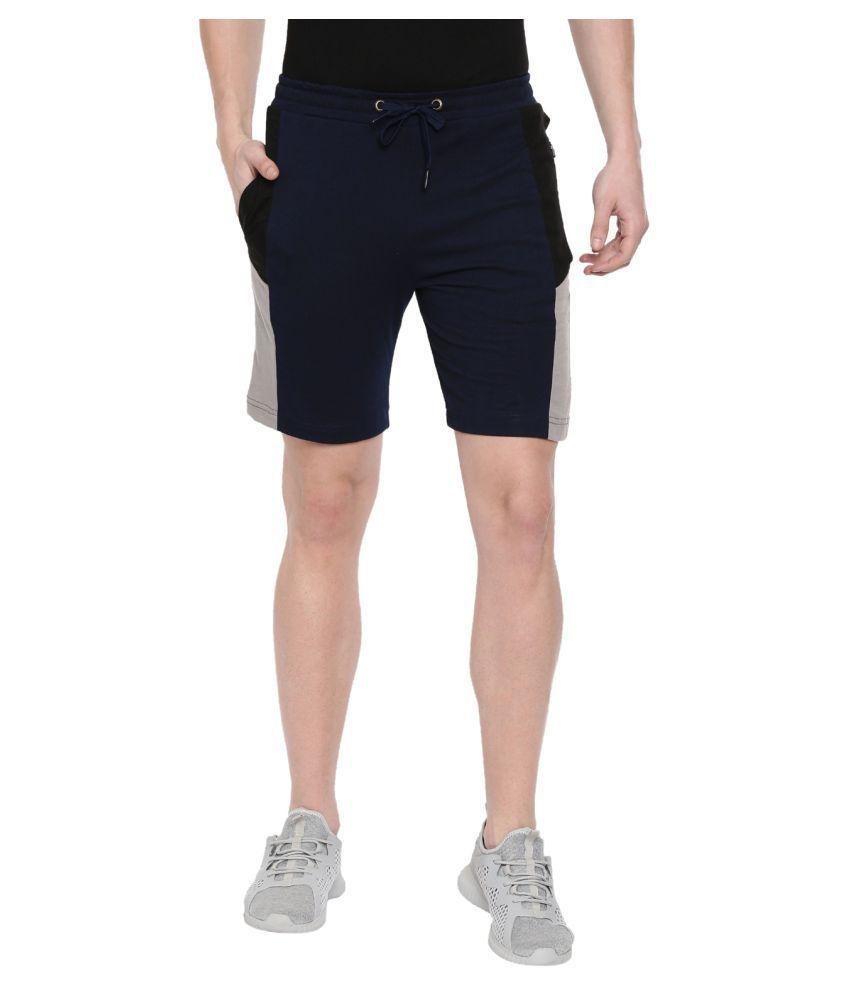 Sayitloud Navy Shorts