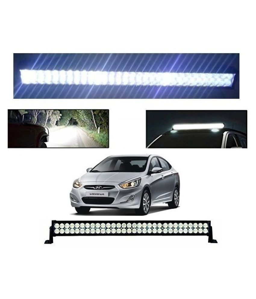 Neeb Traders Hyundai Verna Fludic Bar Light Fog Light 51Inch 120Watt