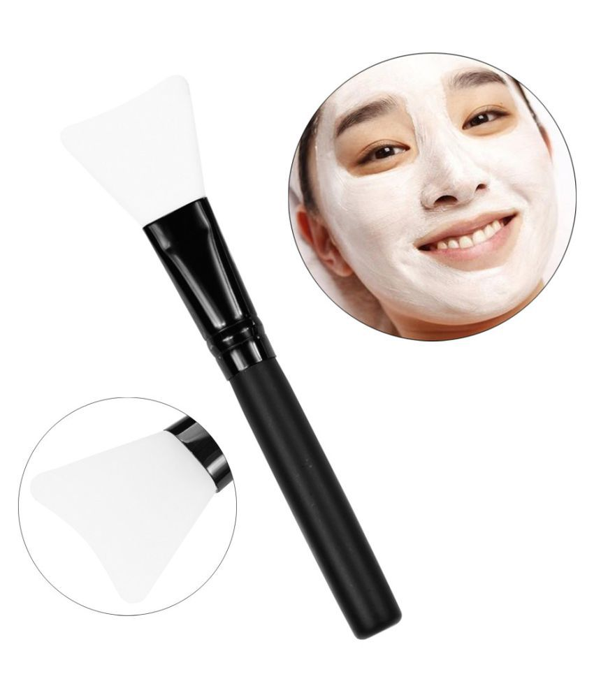 Wooden Handle Face Mud Mask
