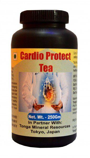 Tonga Herbs Cardio Protect Tea - 250 Gm (Buy Any Supplement Get The Same 60ml Drops Free) Powder 250 gm