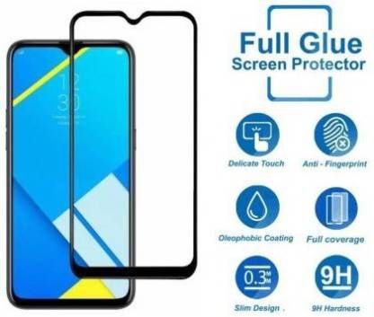 Oppo A1K Tempered Glass Screen Guard By lenmax Japanese Advance Technology