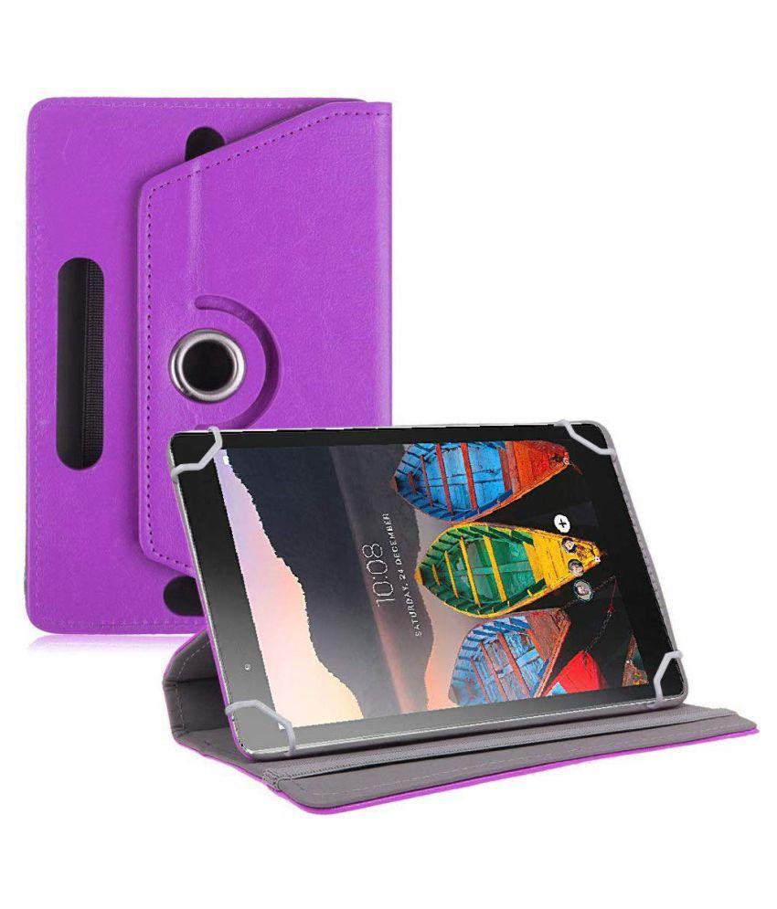 Lenovo Tab 3 8 Plus Flip Cover By TGK Purple