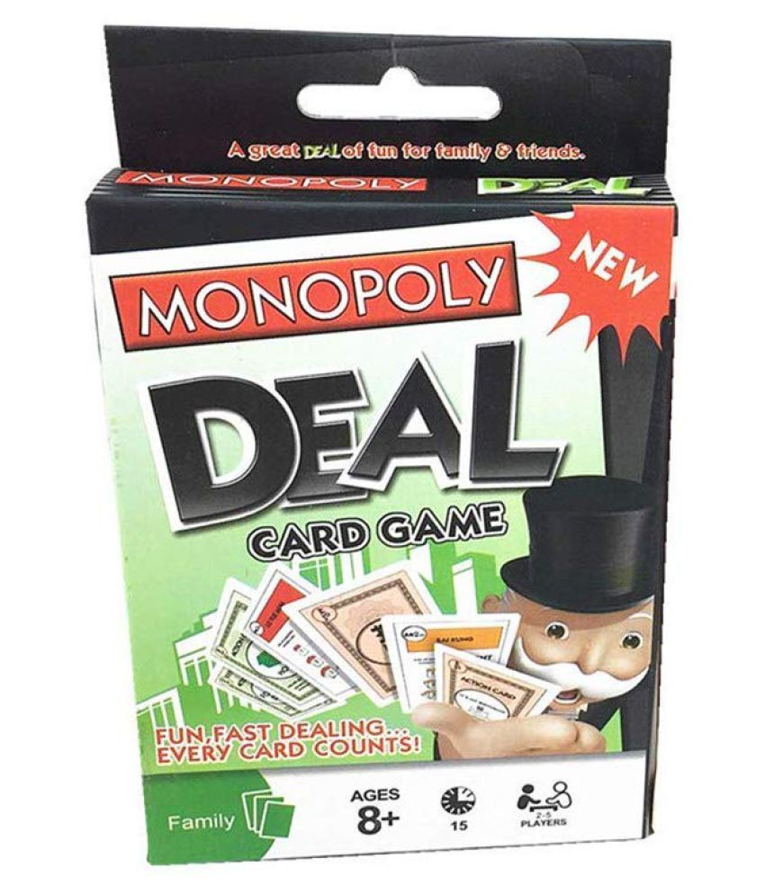 latest Monopoly Deal Card Game, Multi Color