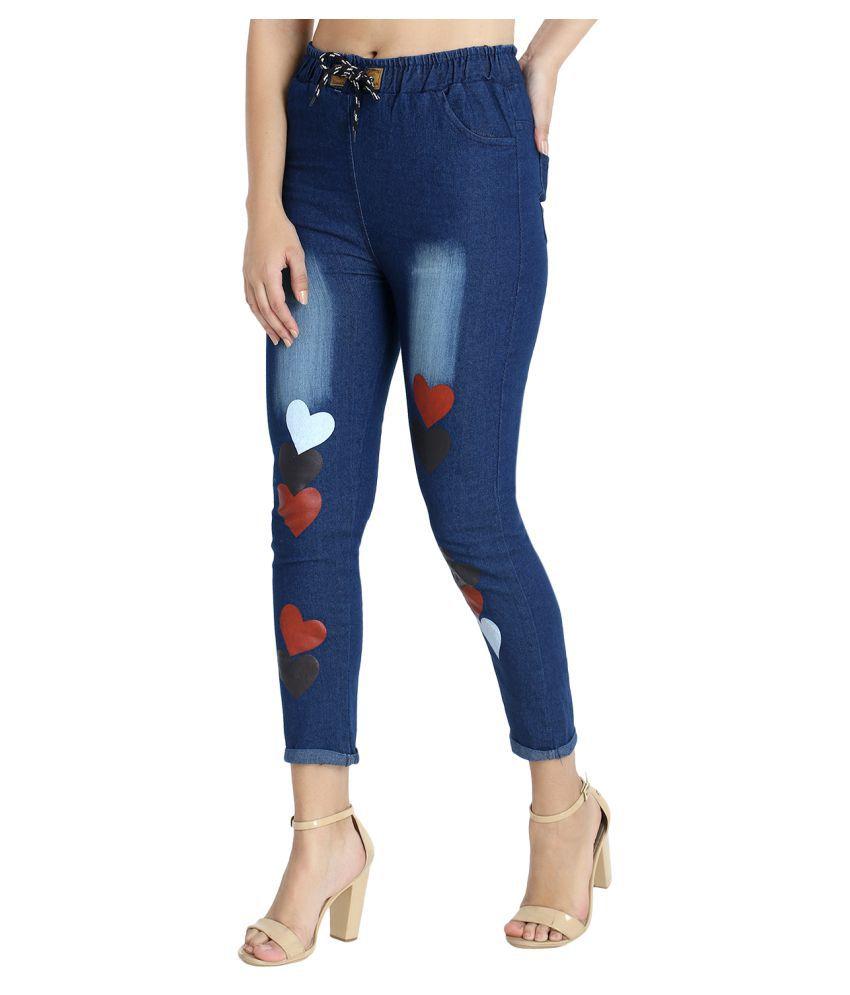 BuyNewTrend Denim Jeans - Blue