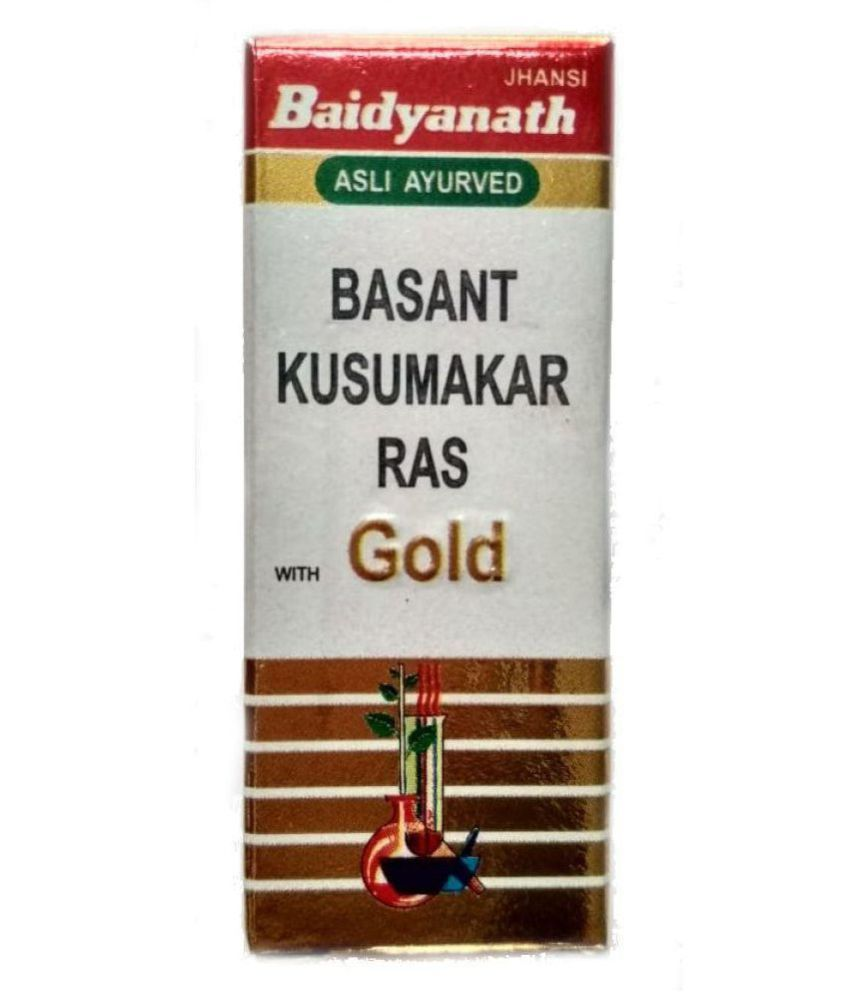 Ayurveda Cure Baidyanath Basant Kusmakar Ras Tablet 25 no.s