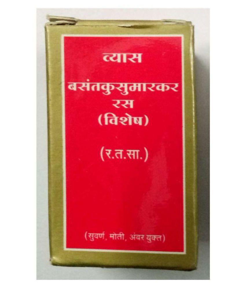 Ayurveda Cure Vyas Basant Kusmakar Ras Tablet 50 no.s