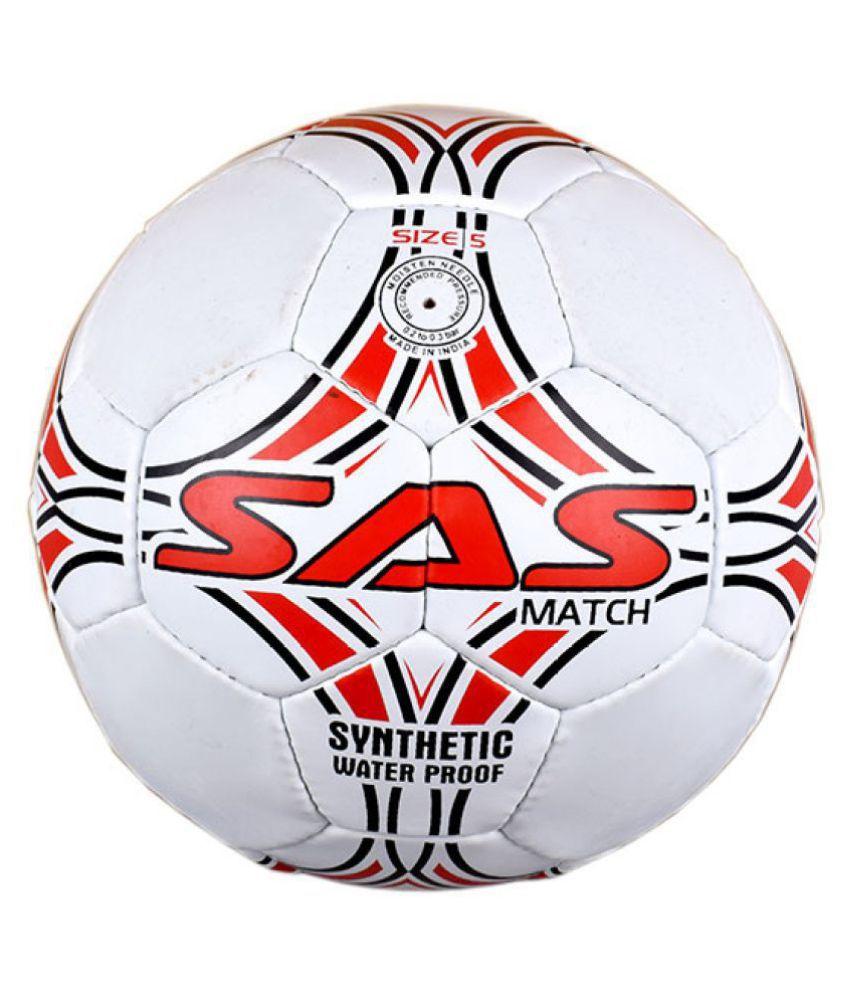 SAS SPORTS Rubber Football Football Size  5
