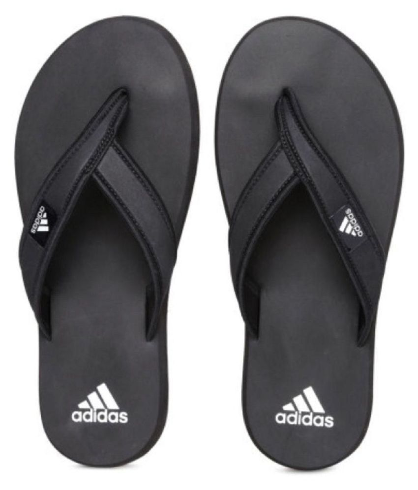 Adidas Black Daily Slippers