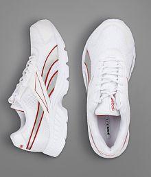 Reebok Acciomax LP White Running Shoes