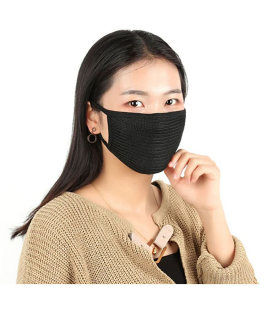 Pollution Mask Anti Nose Polyester Dust Mouth Bland Cotton