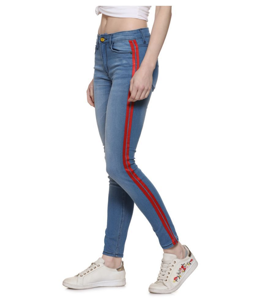 Campus Sutra Denim Jeans - Blue