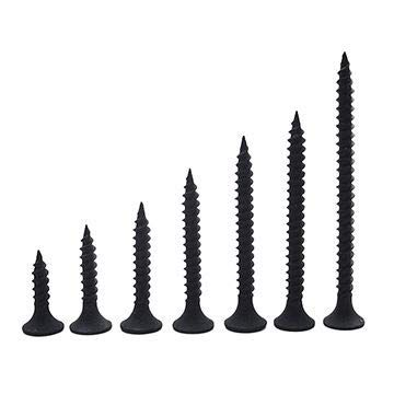 Spider Dry Wall Screws (Self Tapping) with Black Finish size 3.5 x 65mm(DWS3565)Pack of 500 Pcs.