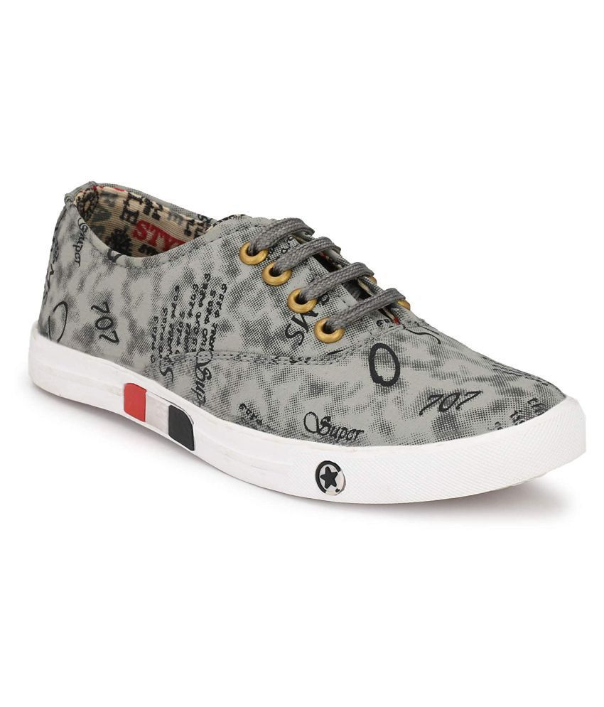 HOC Sneakers Grey Casual Shoes