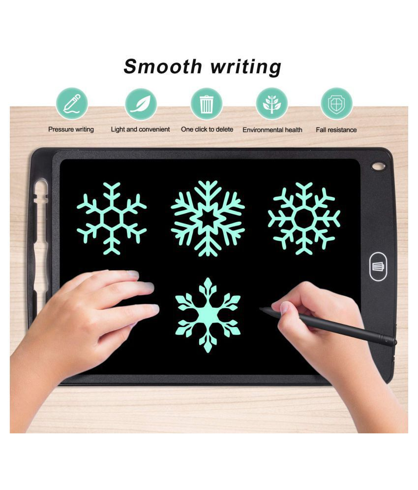 LCD Writing Tablet with Electronic Writing Pad Digital Drawing Board(Erase Button Lock Included)