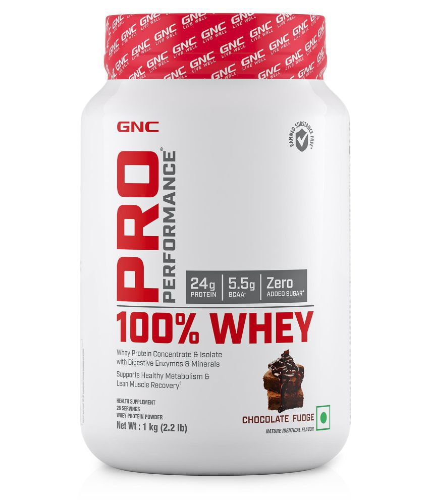 GNC Pro Performance 100% Whey protein 1 kg
