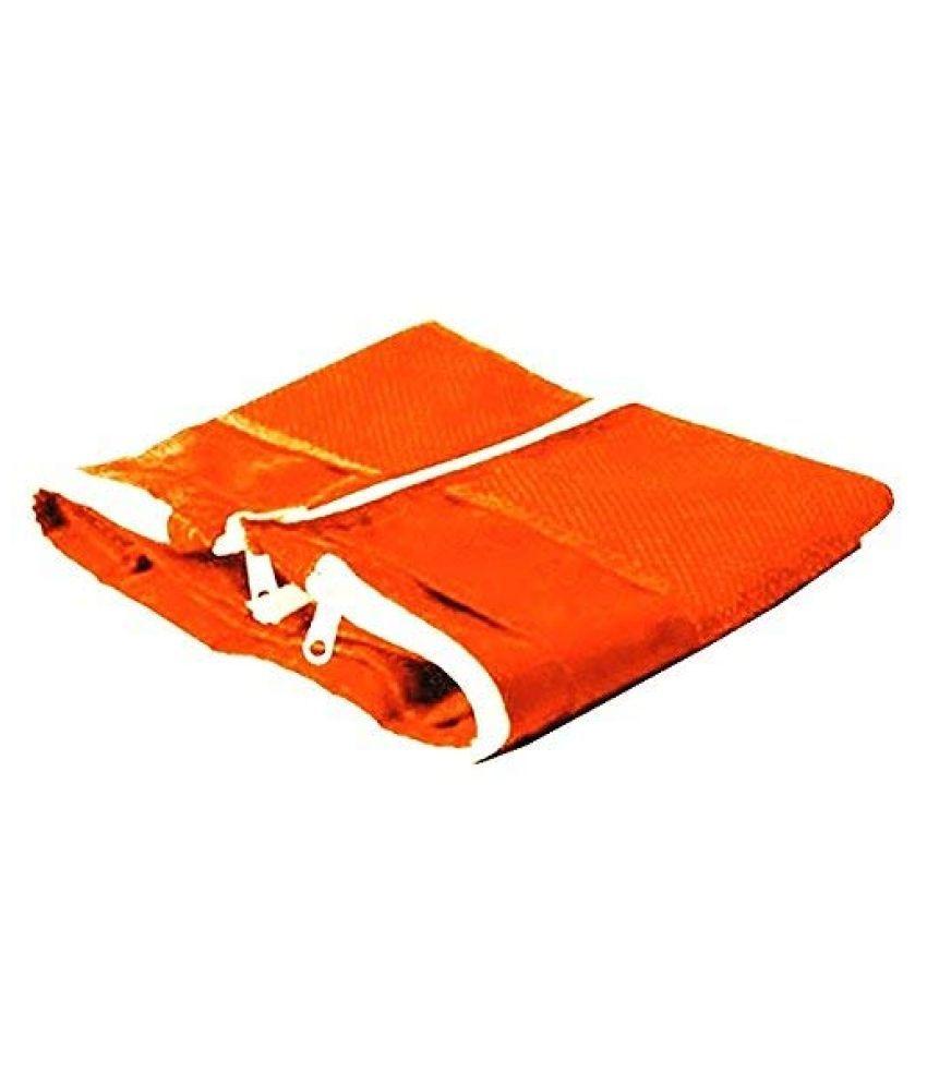 House Of Quirk Orange 2 in 1 Foldable Handbag Organizer
