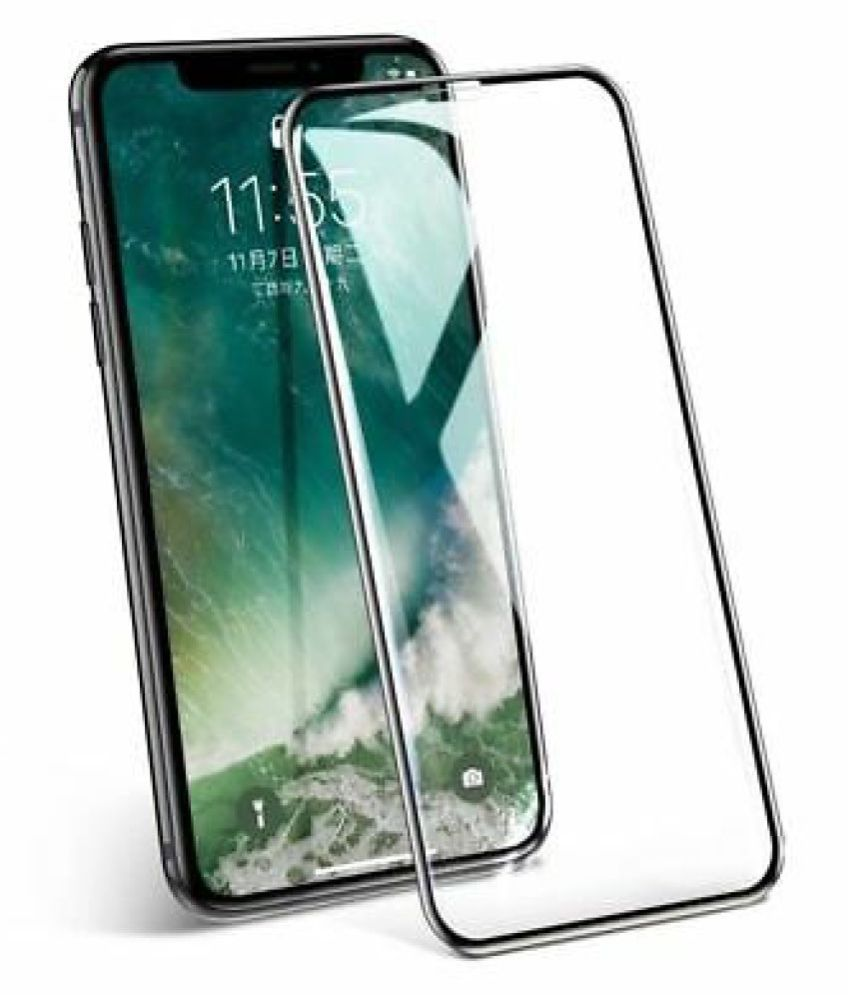 Apple iPhone XR Tempered Glass Screen Guard By lenmax  Advance Screen Protector Technology