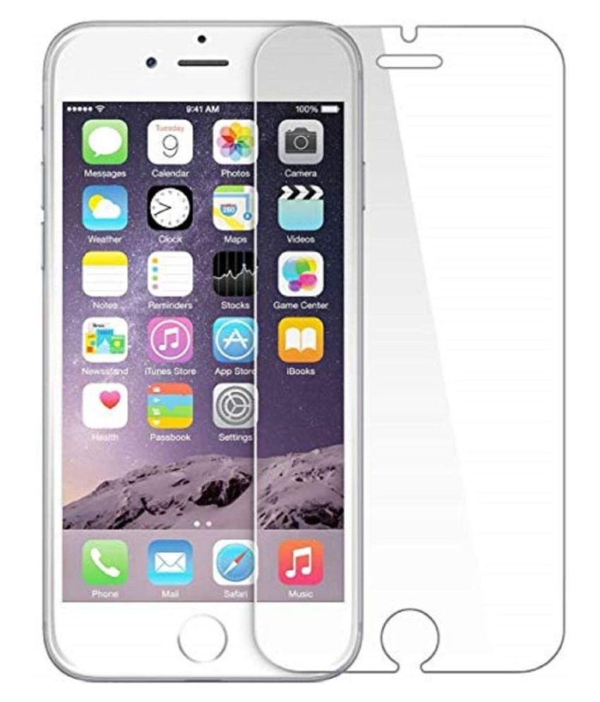 Apple iPhone 6S Tempered Glass Screen Guard By lenmax UV Protection, Anti Reflection