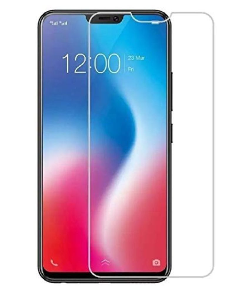 Vivo Y81i Tempered Glass Screen Guard By lenmax UV Protection, Anti Reflection