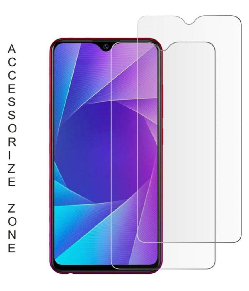 Vivo Y91 Tempered Glass Screen Guard By lenmax UV Protection, Anti Reflection