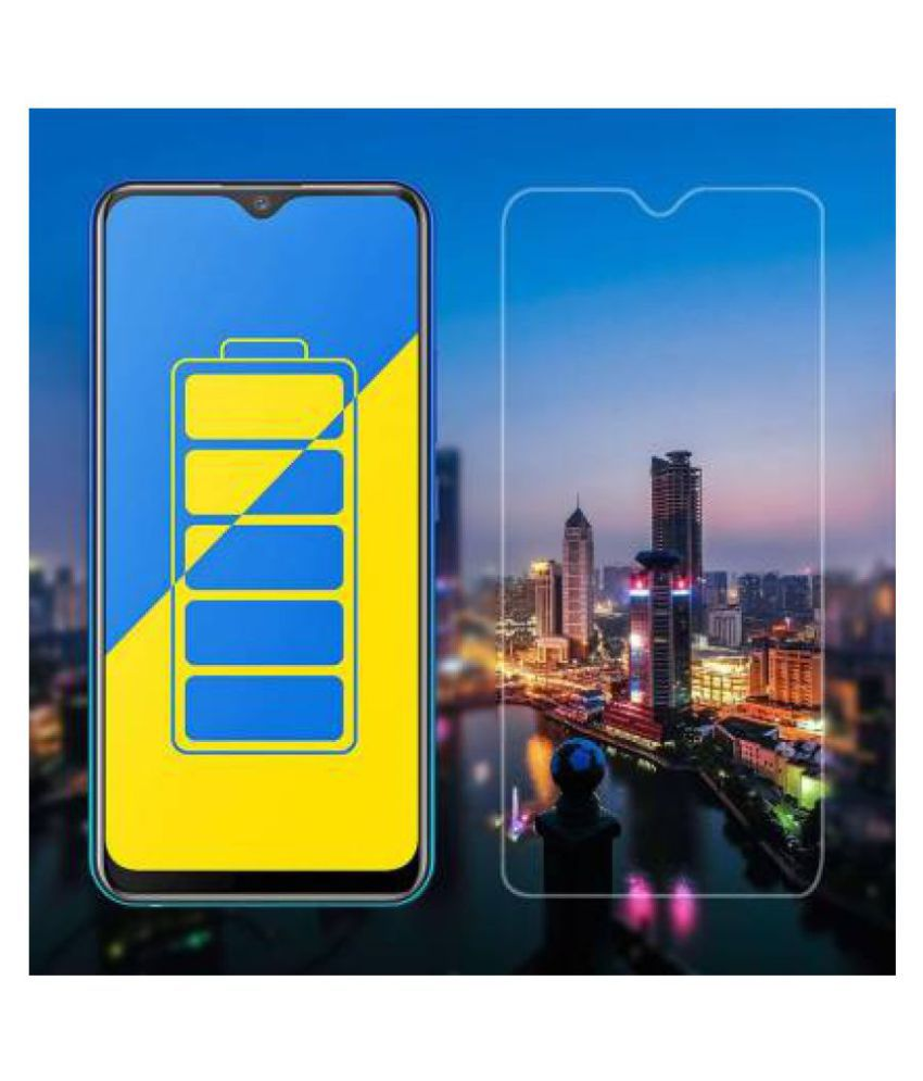 Vivo Y91i Tempered Glass Screen Guard By lenmax UV Protection, Anti Reflection