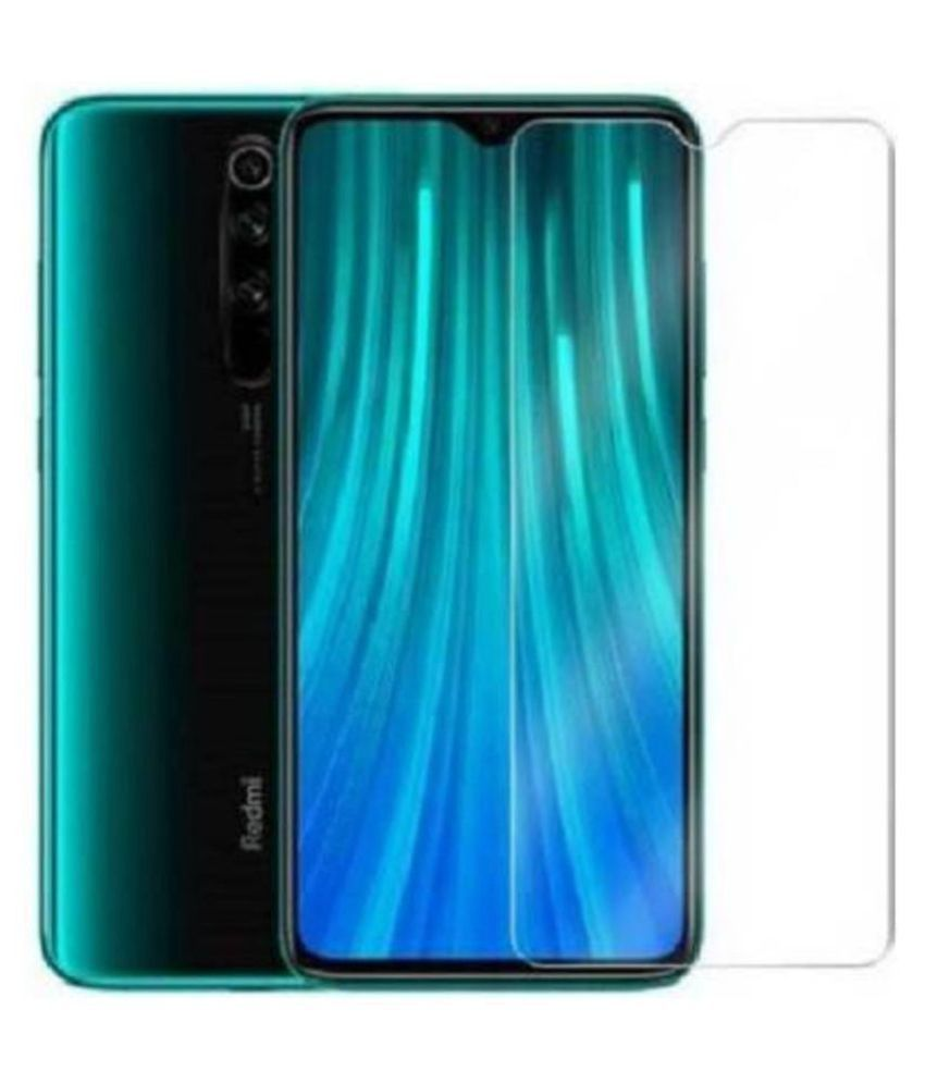 Xiaomi Redmi Note 8 Pro Tempered Glass Screen Guard By lenmax UV Protection, Anti Reflection