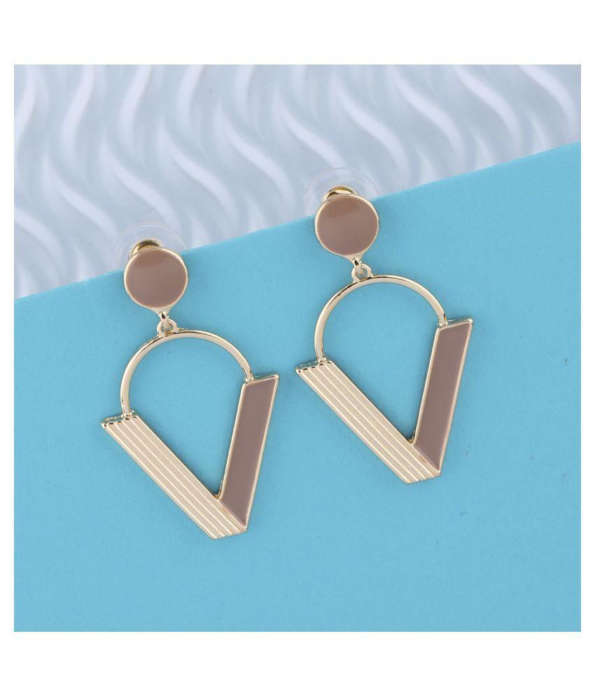SILVER SHINE Amazing Stylish Charm Look Drop Earring For Girl Women