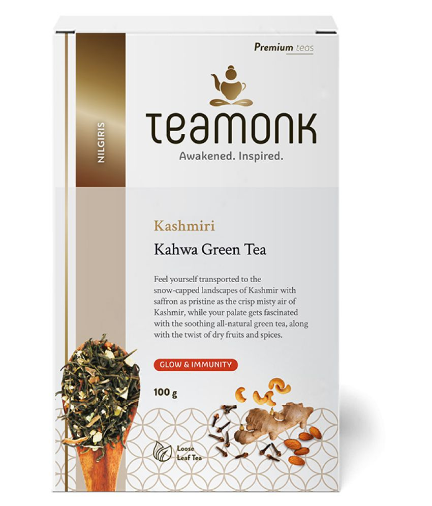 Teamonkglobal Green Tea Loose Leaf 100 gm
