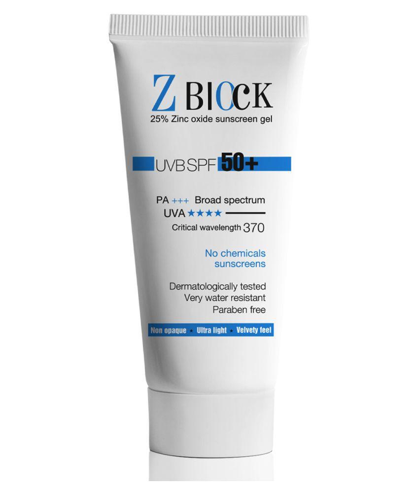 Z-Block Sunscreen Cream 50 g