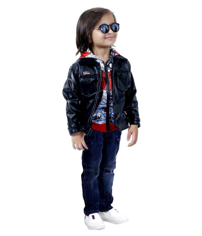 Rockstar Leather Jacket Set