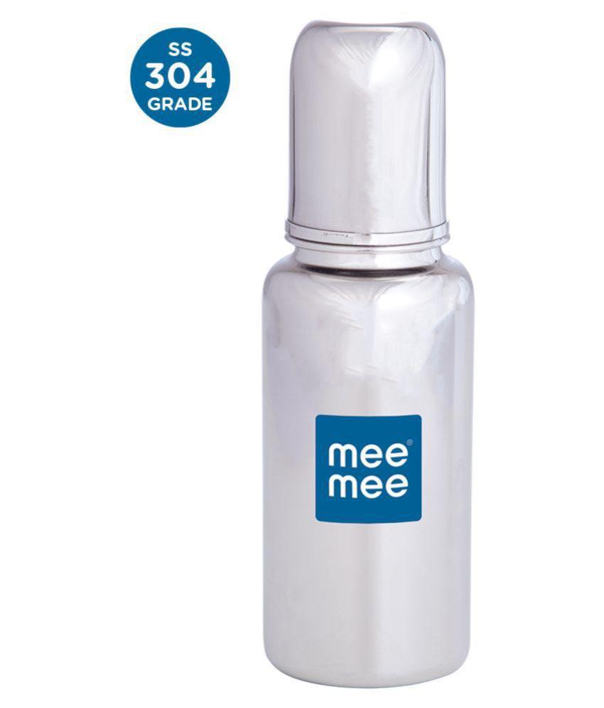 Mee Mee Premium Steel Feeding Bottle (240 ml)