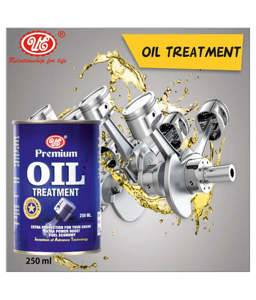 UE Premium Engine Oil Treatment 250 Ml for Engine Lubrication, Friction & Sound Reduction