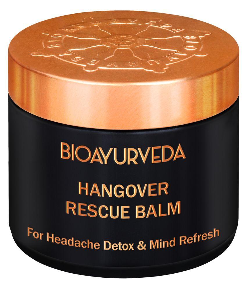 BioAyurveda HANGOVER RESCUE BALM 60 gm