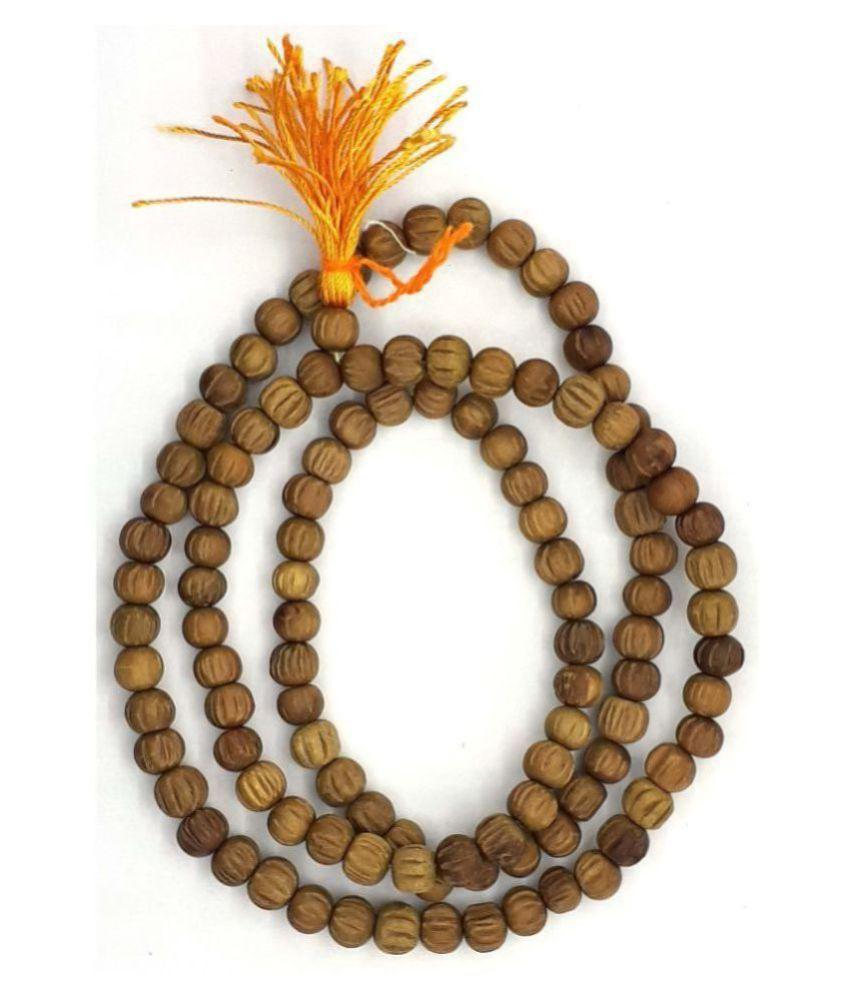 Spherulemuster Original Chandan Mala (108+1) Beads with Kanti  (Chandan Fragrance)