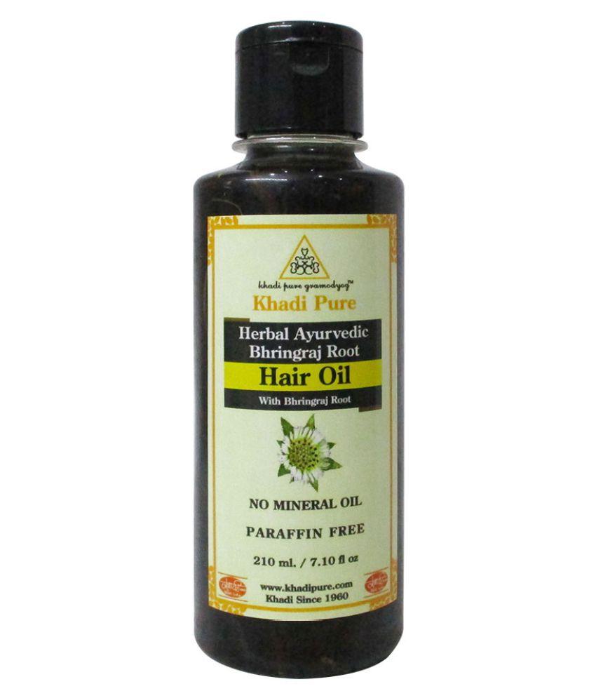 Khadi Pure Herbal Ayurvedic Bhringraj Root Hair Oil 200 mL