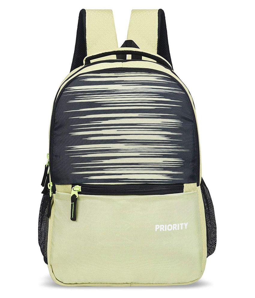 Priority Green School Bag for Boys & Girls