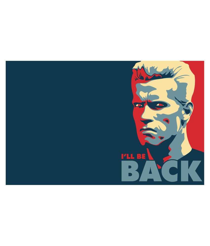 Arnold Wall Poster For Room 45X30 CM, 300 GSM
