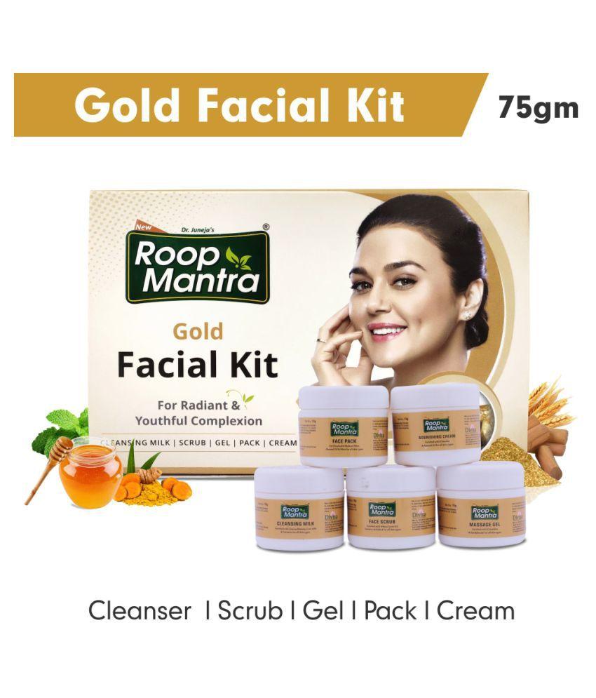 Roop Mantra Gold Facial Kit 75 g