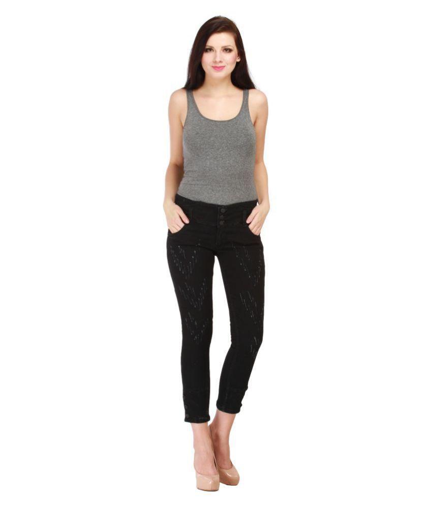 Cali Republic Denim Lycra Jeans - Black