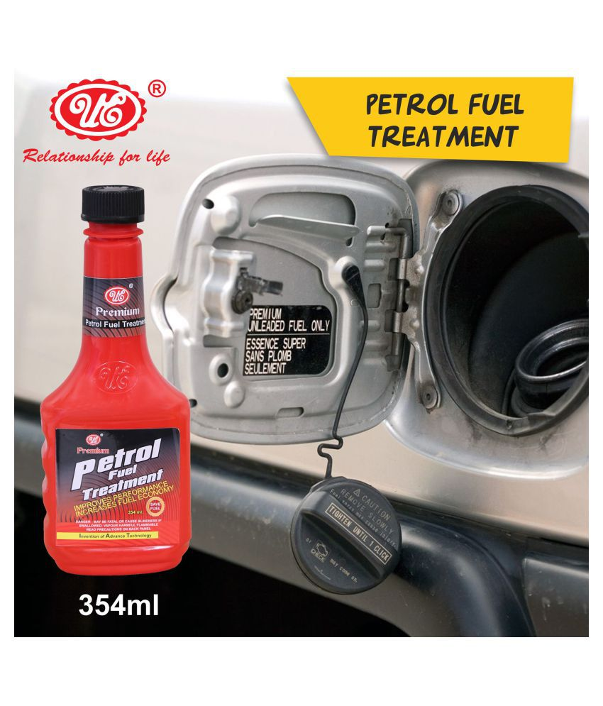 UE Premium Petrol Fuel Treatment and Injector Cleaner to Restore and Improve Engine Performance & Fuel Economy, Friction & Sound Reduction- 354 ml Car Care/Car Accessories/Automotive Products