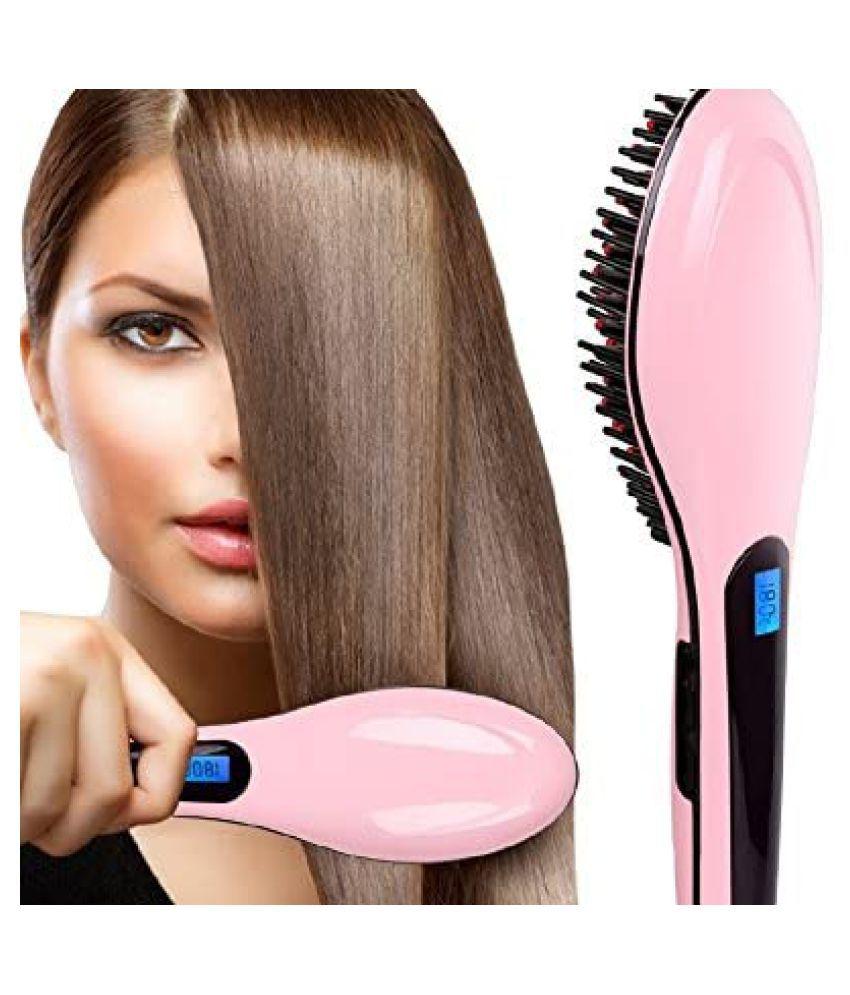 QUEEN ONE Fast Straightener Hair Straightener ( Pink )