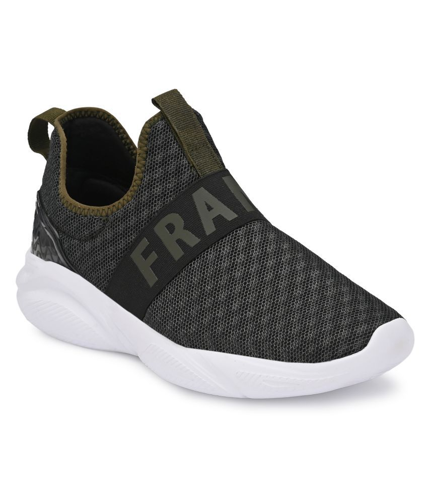 Franco Leone Olive Running Shoes