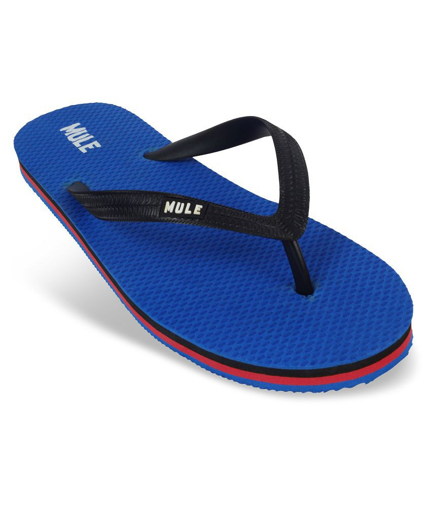 Mule Blue Daily Slippers