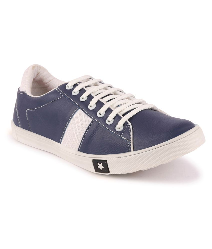 Fausto Sneakers Blue Casual Shoes