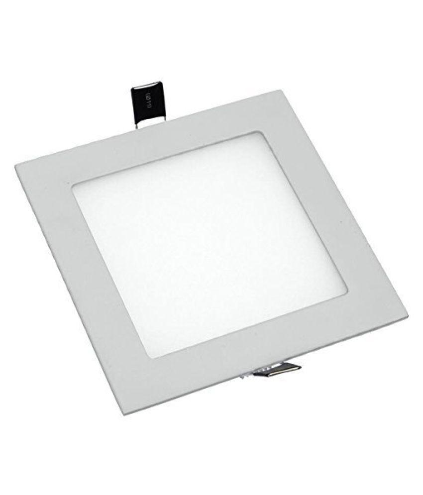 D'Mak 8W Square Ceiling Light 9.7 cms. - Pack of 1
