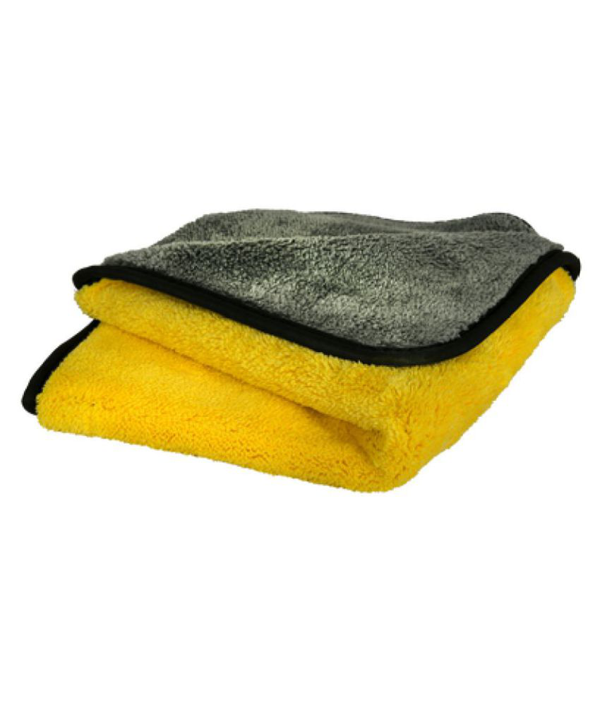 Microfiber Cloth for Car Cleaning and Detailing | Dual Sided, Extra Thick Plush Microfiber Towel Lint-Free, 600 GSM, 40cm x 30cm