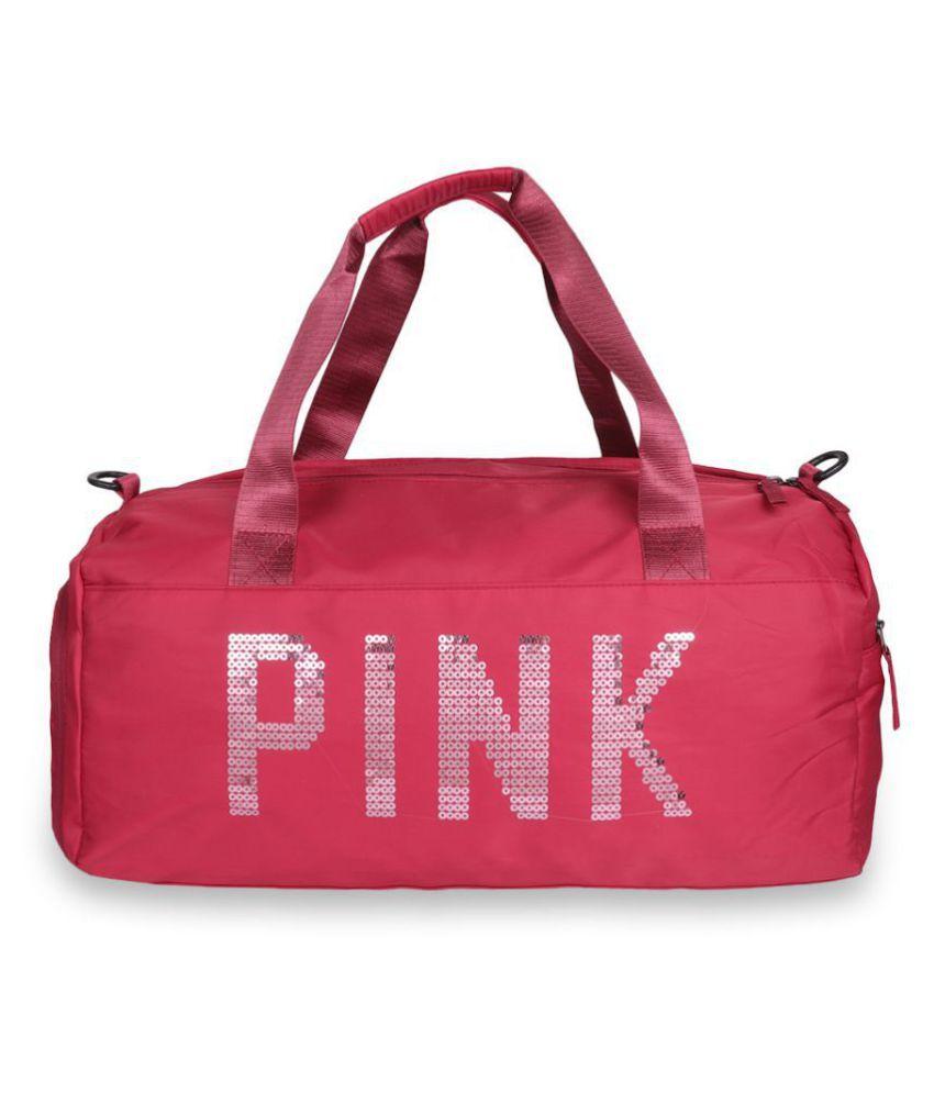 Lychee Bags Medium Polyester Gym Bag