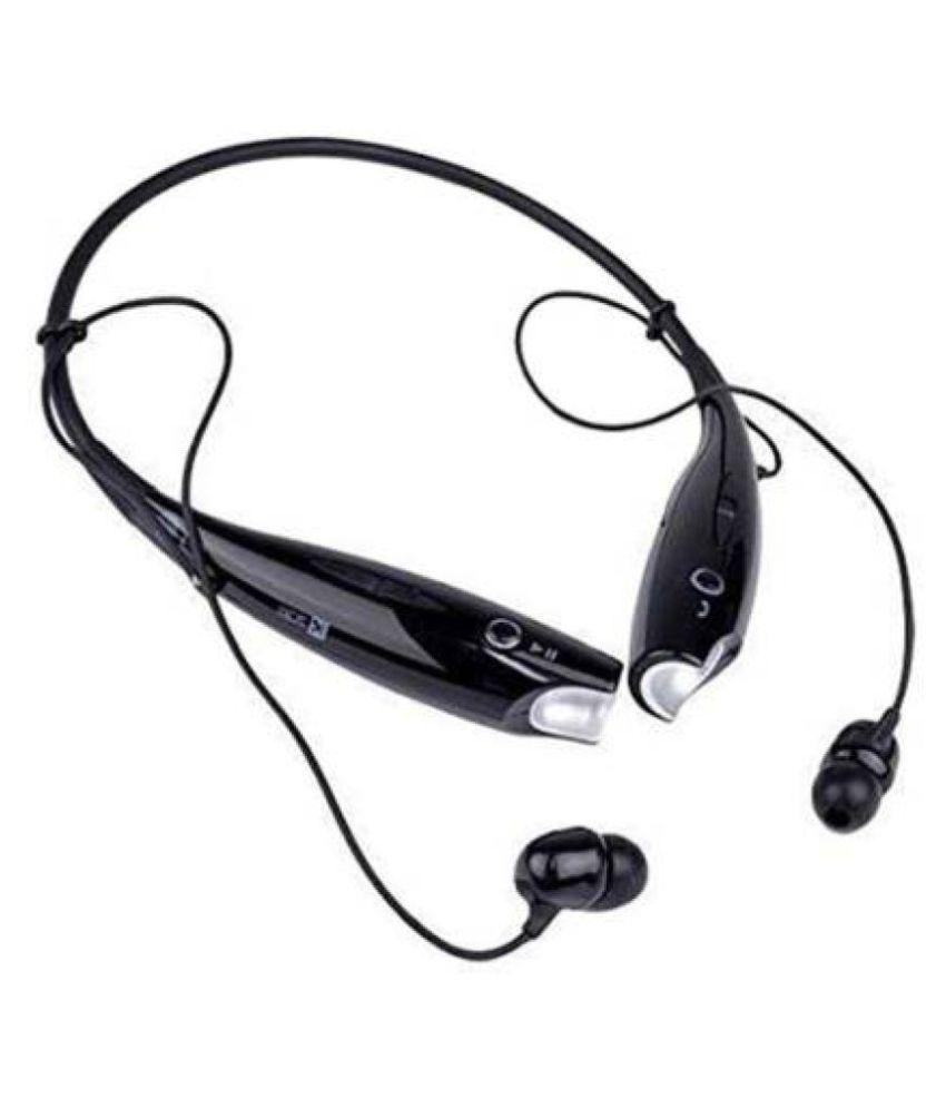 Woos stereo headset Neckband Wireless With Mic Headphones/Earphones