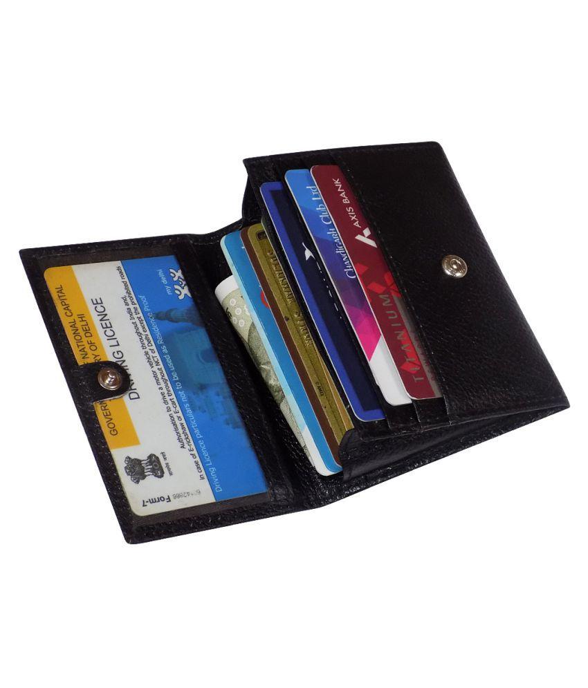 Style 98 Black Card Holder